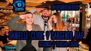 Big Brother MX 2015 -- Danielle Clyde y Sargento Rap CUENTAN TODO