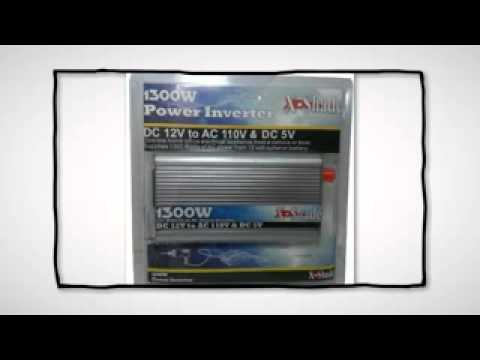 X-Shade 1300 Watts 12 Volts DC to 110 Volts AC Power...