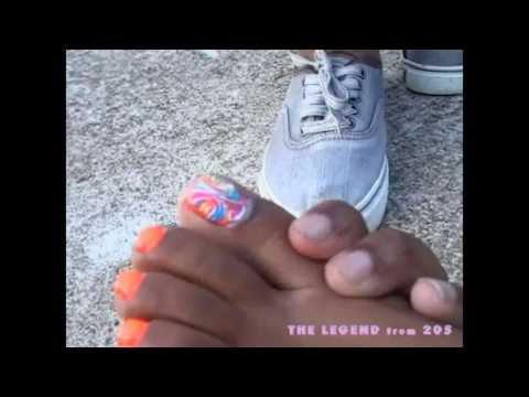 Trice's Orange Toes (Soles and Toes LIX)