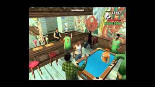 GTA San Andreas Loquendo capitulo 1 Fiesta en el Bar