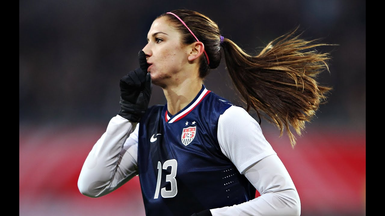 Alex morgan wall decal high def pics