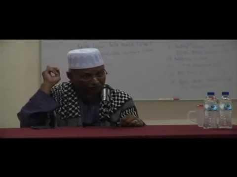 Ceramah ilmu makrifat Tuan Guru H. Shaari di Shah Alam part.1