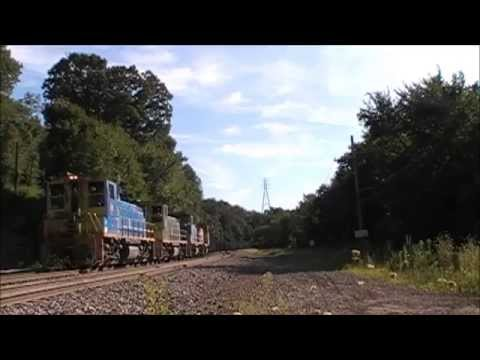 Union Railroad Coke Train at Bull Run Road Crossing (West Mifflin.PA) on August 21.2015