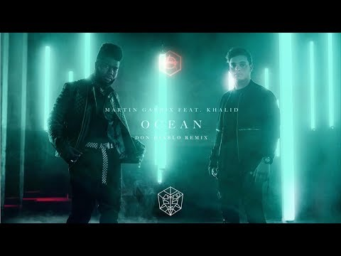 Martin Garrix Ft. Khalid - Ocean (Don Diablo Remix) [Official Lyric Video]