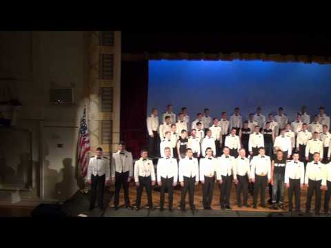 USNA MEN'S GLEE CLUB AMERICA THE BEAUTIFUL MAY 2013