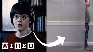 Real-Life 'Invisibility Cloak' Explained | WIRED