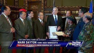 SUAB HMONG NEWS: Gov. Mark Dayton signed a Proclamation MINNESOTA HMONG MEMORIAL DAY