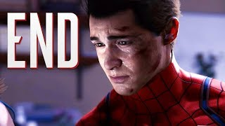 THE END IS SO SAD!! | Spider-Man PS4 - ENDING