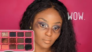 WORST EYESHADOW PALETTE EVER Shop Hush makeup fail