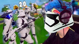 STORM TROOPER SQUAD DOMINATES! (Fortnite: Battle Royale)