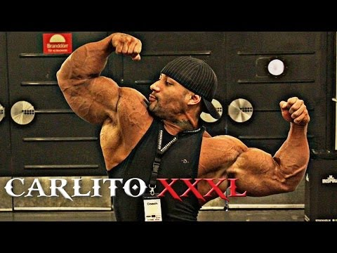 Most Insane Amateur Bodybuilder Ever! Carlito Xxxl video