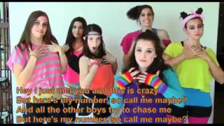 Watch Cimorelli Call Me Maybe (cover) video