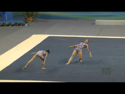 Australia (AUS) -  2016 Acrobatic Worlds, Putian City (CHN) Balance  Women's Pair