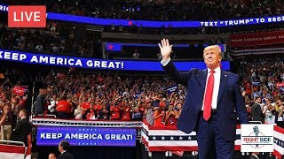 PRESIDENT TRUMP RALLY LIVE ON RSBN IN GREENVILLE, NC 7/17/19