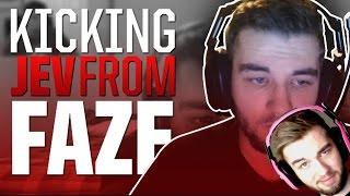 "Jev Reacts To ""Kicking Jev From FaZe"""
