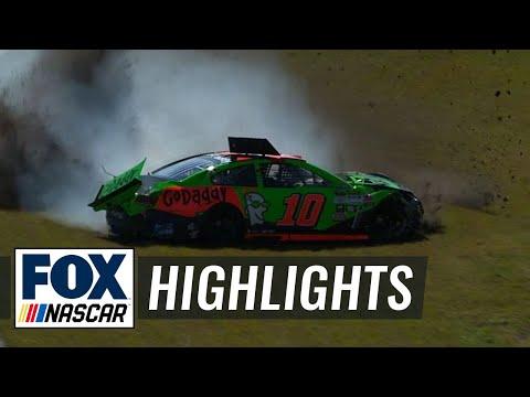 Danica Patrick Wrecks in Daytona 500 Practice - 2015 NASCAR Sprint Cup