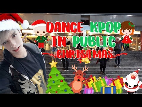 DANCE KPOP IN PUBLIC CHALLENGE 2 CHRISTMAS SPECIAL | FranHen