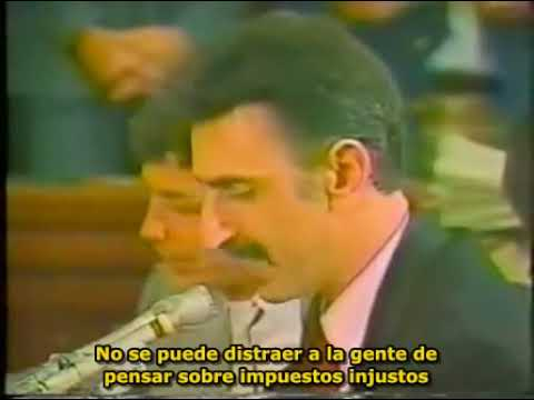 Frank Zappa en las audiencias del PMRC 1 SUBTITULADO