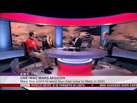 Mars One on BBC World News - 16/02/2015