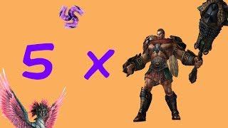 All Hercules Vs All Kukulkan SMITE All Out Assault
