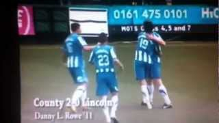 Danny L Rowe Against Lincoln 1st Goal