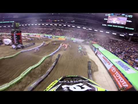 GoPro HD: Ryan Villopoto Main Event 2014 Monster Energy Supercross from Indianapolis