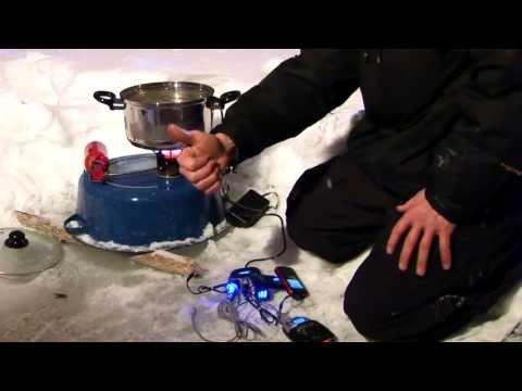 Review: Thermoelectric Generator in Alaska - TEG. Pot Charger. Wonder Pot