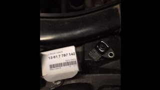 BMW E90 320d Intake Manifold Absolute Pressure MAP Sensor replacement