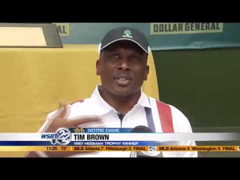Tim Brown upset over ND scandal
