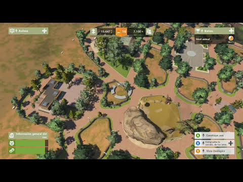 Gameplay Zoo Tycoon | Pavos reales y mini recintos | (Ep. 7)