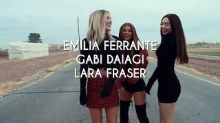 Behind the Scenes with Emilia, Gabi, and Lara