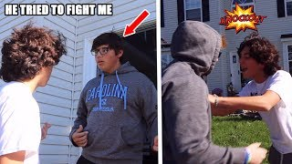 CONFRONTING A ONLINE HATER! (I WENT TO HIS HOUSE)