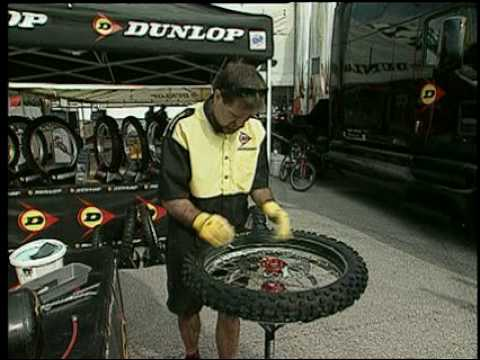 Dunlop Motorcycle: How-To Mount A Motocross Tire