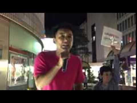 山本太郎「福島県知事選」横につながって頂きたい@福島駅 9/13