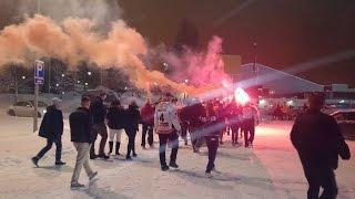 HPK Kannattajat - Lappeenranta away 10.1.2015