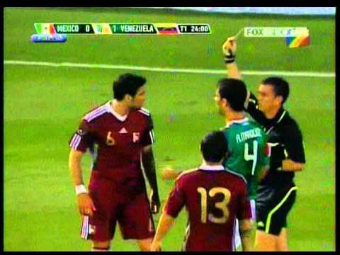 Mexico - Venezuela amistoso par de golazos de Arango!! segun Fox sport