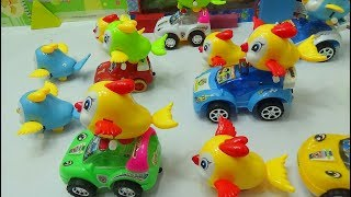 Baby Time - Police car collection and bird toys