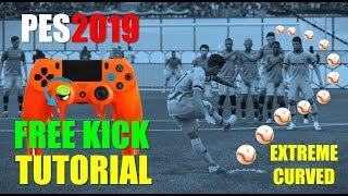 PES2019 Tutorial - Extreme Curved Free Kick