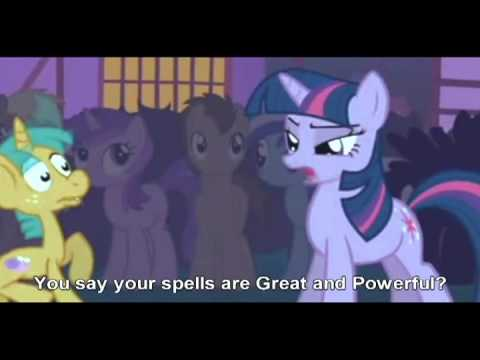 [EPRBOE #1] Twilight Sparkle VS The Great and Powerful Trixie Music Videos