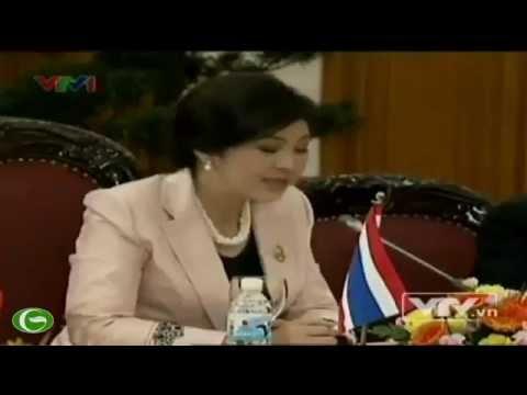 Việt Nam tiếp Thủ tướng Thái Lan Yingluck Shinawatra