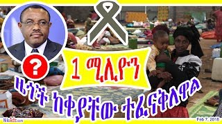 Ethiopia: 1 ሚሊዮን ዜጎች ከቀያቸው ተፈናቅለዋል - One Million Ethiopias - DW