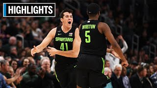 Highlights: Spartans Take Care of Business | Oakland at Michigan State | Dec. 14, 2019