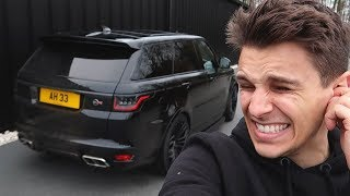 LOUD Exhaust For My Range Rover SVR!