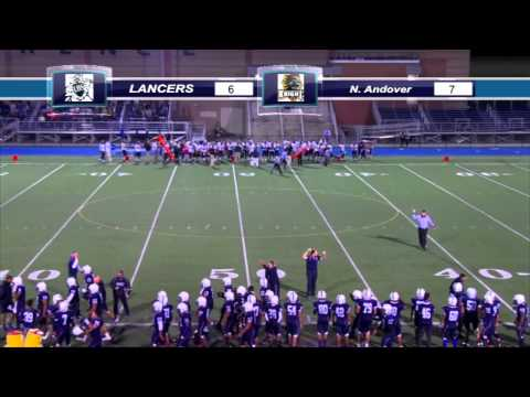 Lancers Vs  N Andover -  Football