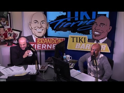 London Fletcher NFL Analyst of CBS Sports Network joins Tiki and Tierney