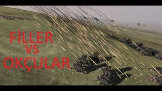Filler ve Okçular Savaşırsa Total War Attila