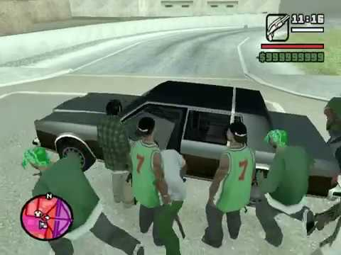 GTA SA Gang War - Mod Test