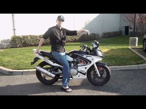 Samurai 250cc Air Cooled Motorcycle Review - CountyImports.com - For Sale - 877-868-5828