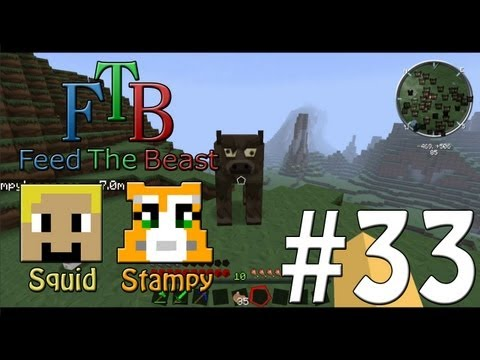 Feed The Beast #33 - An Army Of Cows!! - W/Stampylongnose