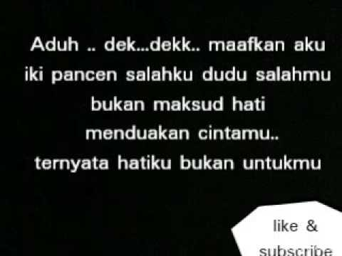 NDX A K A Lilakno Aku PJR#Lirik